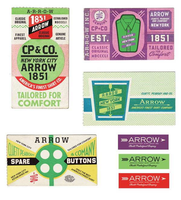 Arrow Cluett Labels and Packaging by Glenn Wolk 04