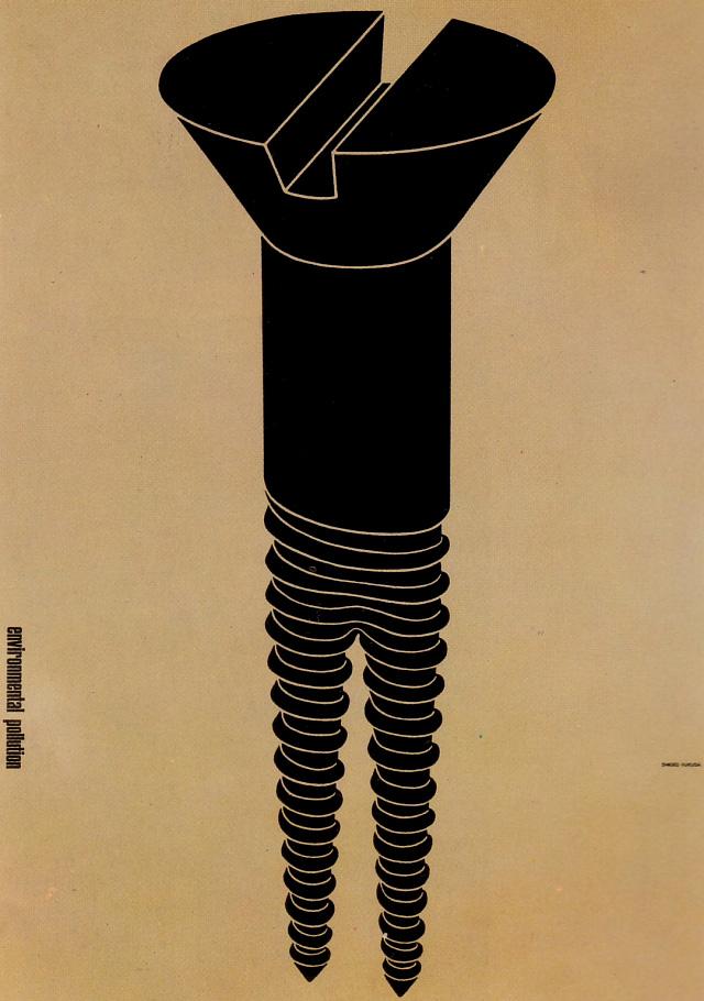 Environmental pollution (Shigeo Fukuda, 1973)3