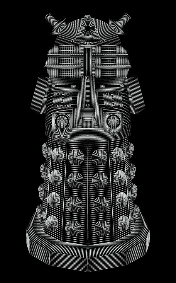 Doctor Who - Dalek by Patrick Seymour
