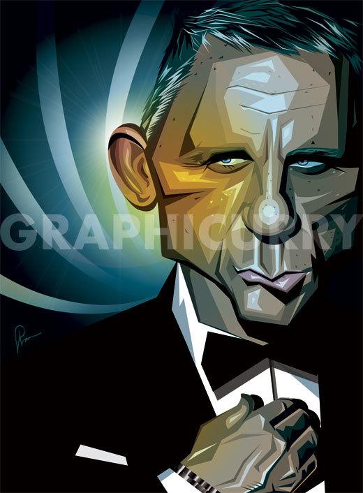 James Bond by Prasad Bhat-1