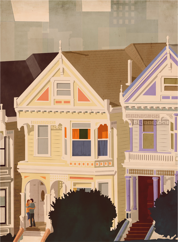 painted ladies by Giordano Poloni