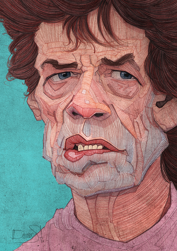Rolling Stones by Stavros Damos - 1