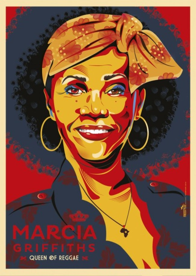 Marcia Griffiths by Michael Thompson - Freestylee