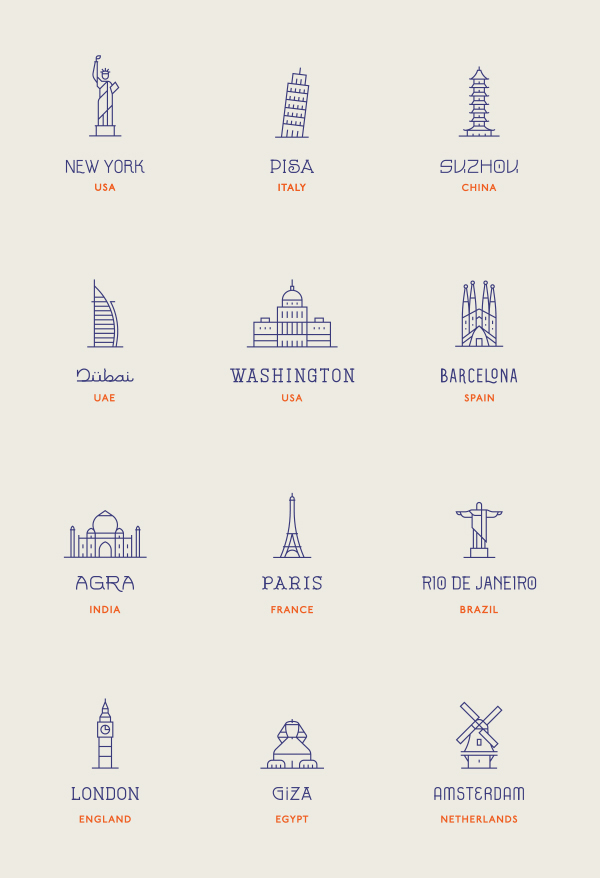 World Landmarks-1
