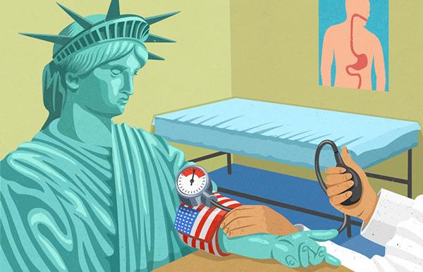 Innovative Satirical Illustrations by John Holcroft