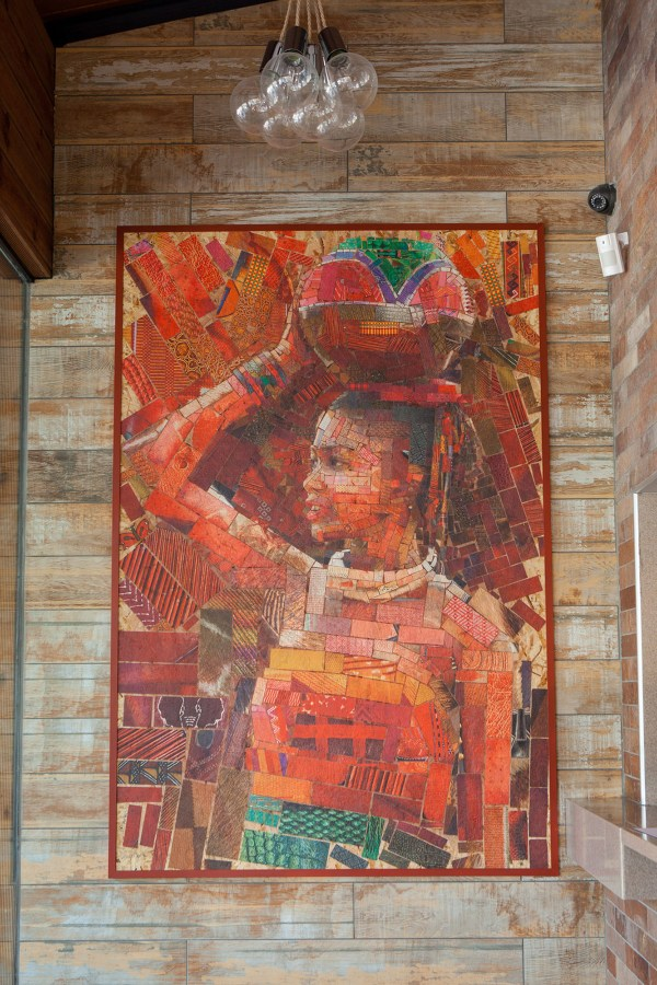 Incredible Mosaics Inspired African Bricks