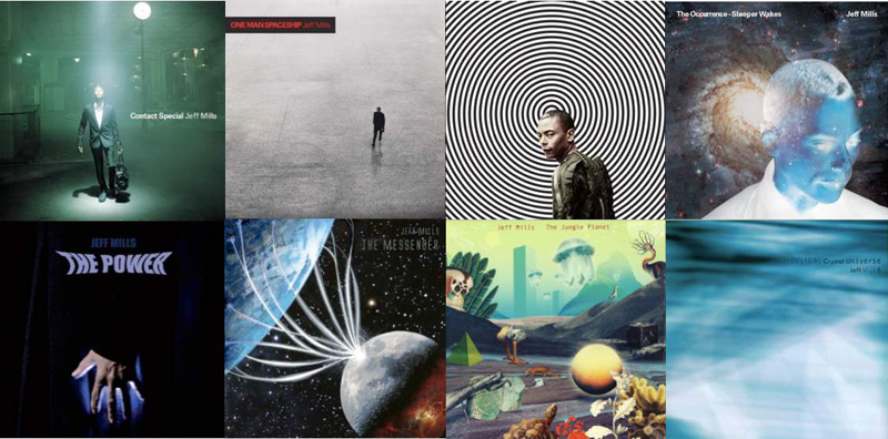 """The Album Covers of the """"Sleeper Wakes Serie""""."""