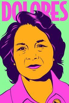 Barbara Carrasco: Dolores Huerta Lo