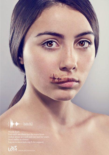Kalpesh Patankat / Y&R Dubai: Words Hurt - Bitch