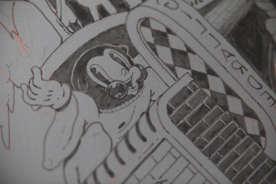 ugo-gattoni-mcbess-sweetbread-lithography-oeuvre-illustration-fine-art-print-collaboration-edition-soldart-38-cartoons-character-drawing-artwork