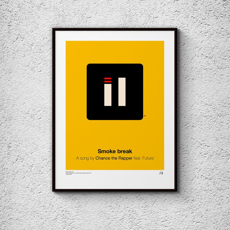 Pictogram Music Posters by Viktor Hertz