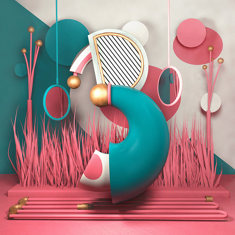 Illustrated Alphabet Project by Carlo Cadenas