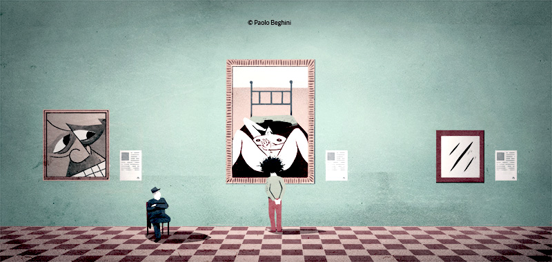 Conceptual illustrations by Paolo Beghini