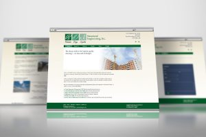 Custom mobile responsive website for Engineering firm.