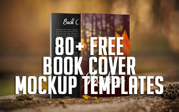 80+ Free Book Cover Mockup Templates