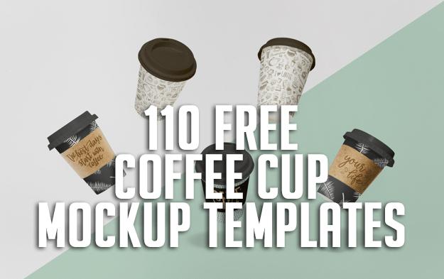 110+ Free Coffee Cup Mockup Templates