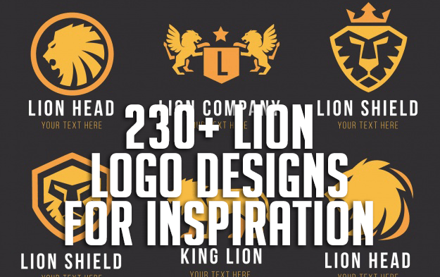 230+ Lion Logo Designs for Inspiration