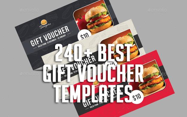 240+ Best Gift Voucher Templates