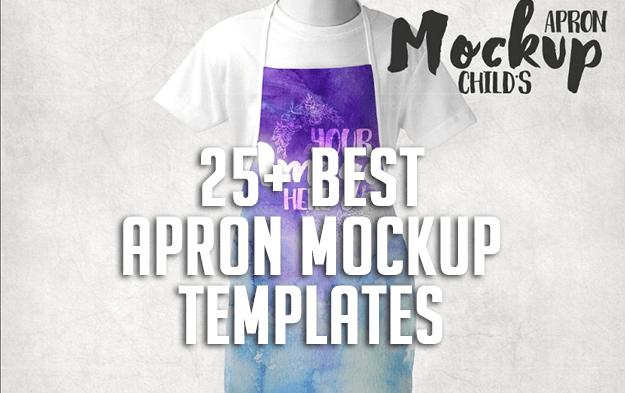 25+ Best Apron Mockup Templates