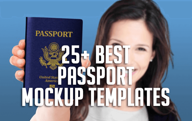 25+ Best Passport Mockup Templates