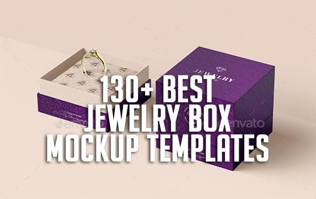 130+ Best Jewelry Box Mockup Templates