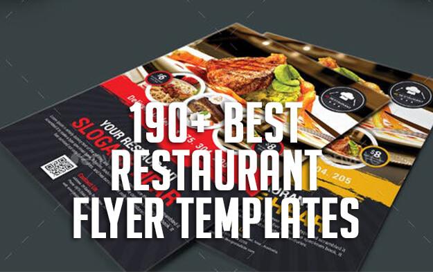 190+ Best Restaurant Flyer Templates