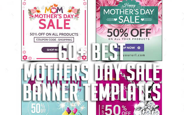 60+ Best Mothers Day Sale Banner Templates