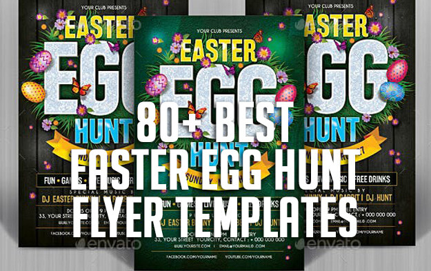 80+ Best Easter Egg Hunt Flyer Templates