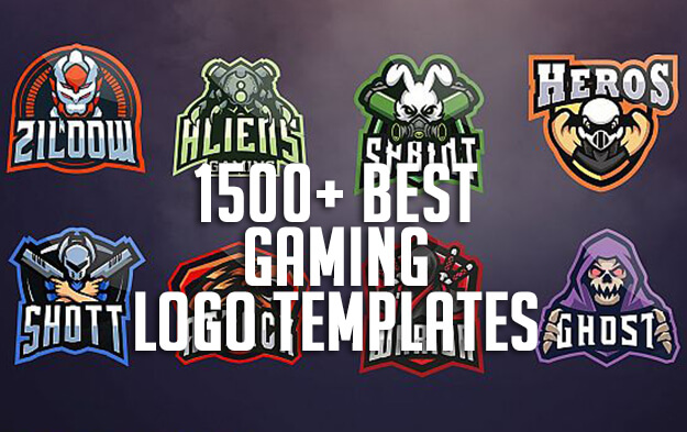 1500+ Best Gaming Logo Templates