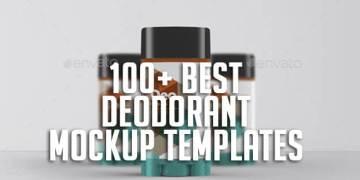 100+ Best Deodorant Mockup Templates