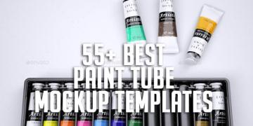 55+ Best Paint Tube Mockup Templates