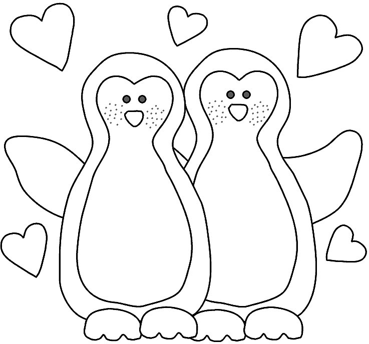 Penguin Lesson Plans Facts Crafts Coloring Pages