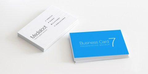 Graphic Ghost - Business Card Mockup 7