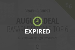 Graphic Ghost - August Deal - Expired