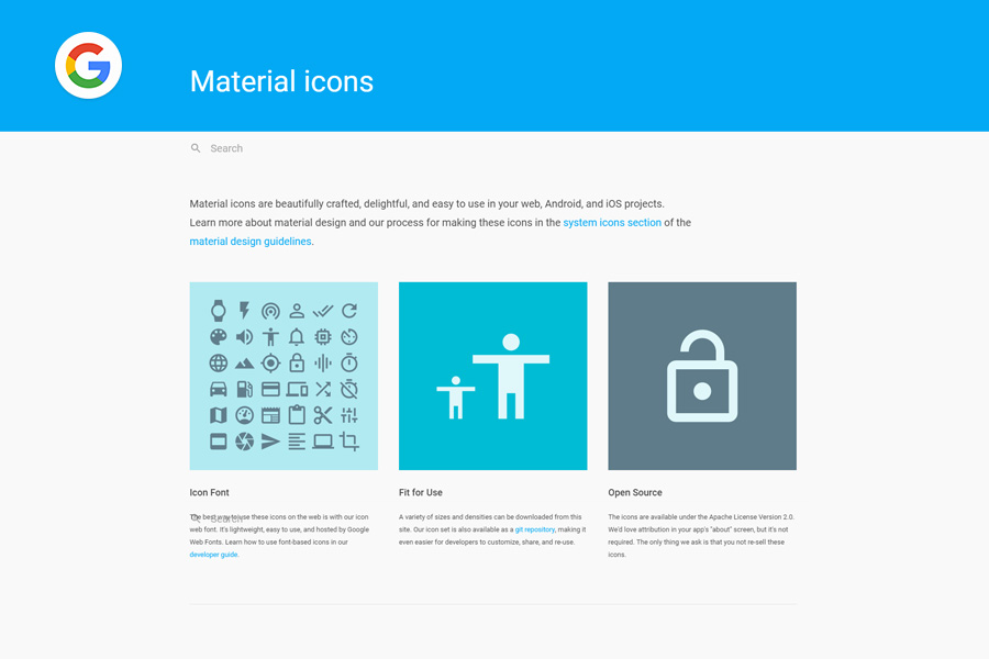 Graphic Ghost - Google Material Icons