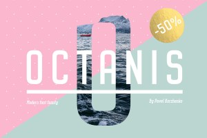 Graphic Ghost - Octanis Font Family