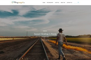 Graphic Ghost - BlogAngel Lite - Free WordPress Theme