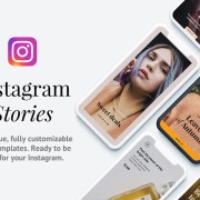 Graphic Ghost - 12 Instagram Story Templates
