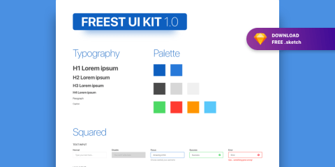 Graphic Ghost - Freest - Free Form UI Kit