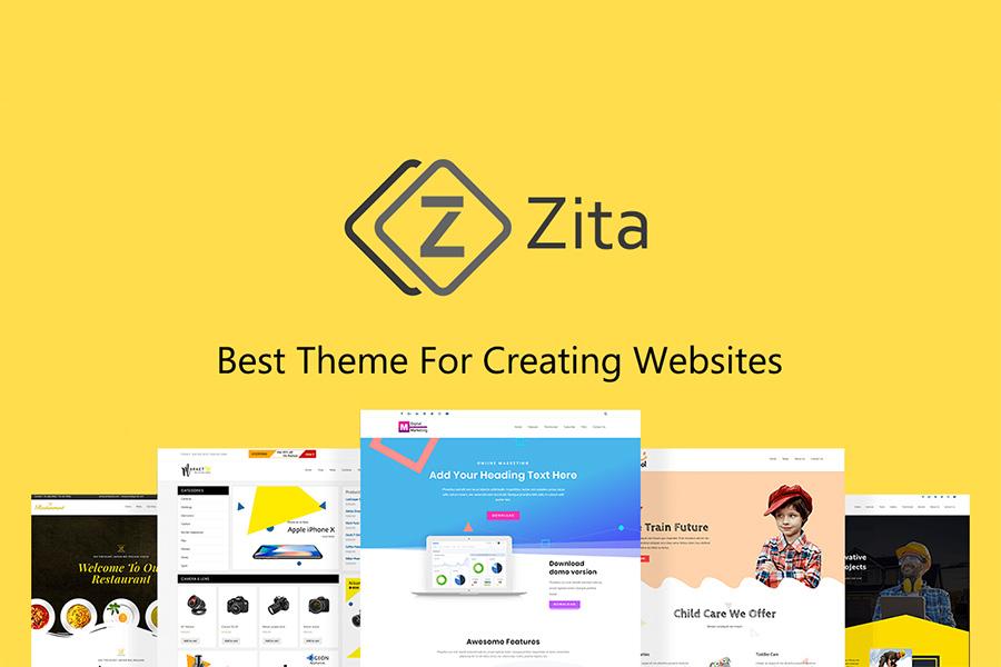 Graphic Ghost - Zita - Free WordPress Theme
