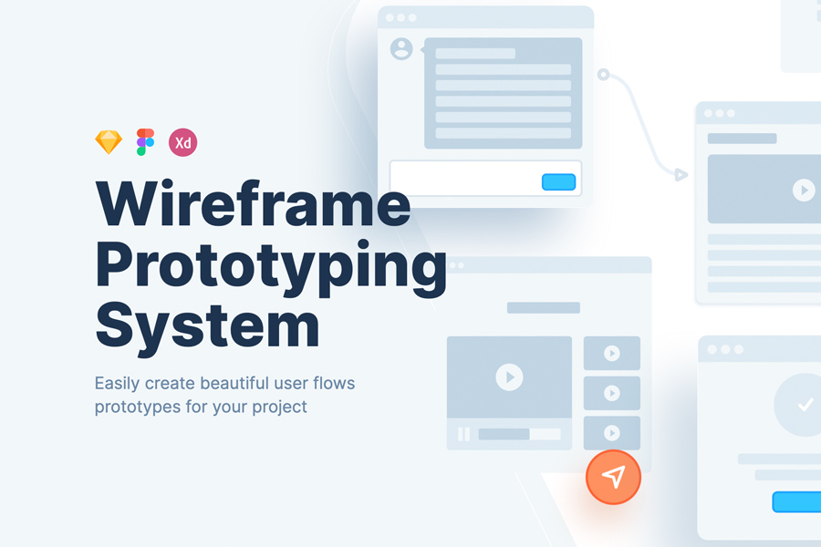 Graphic Ghost - Wireframe Prototyping System