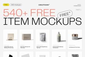 Graphic Ghost - 540 Free Item Mockups