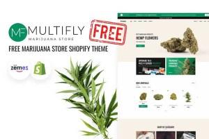 Graphic Ghost - Free Marijuana Store Shopify Theme