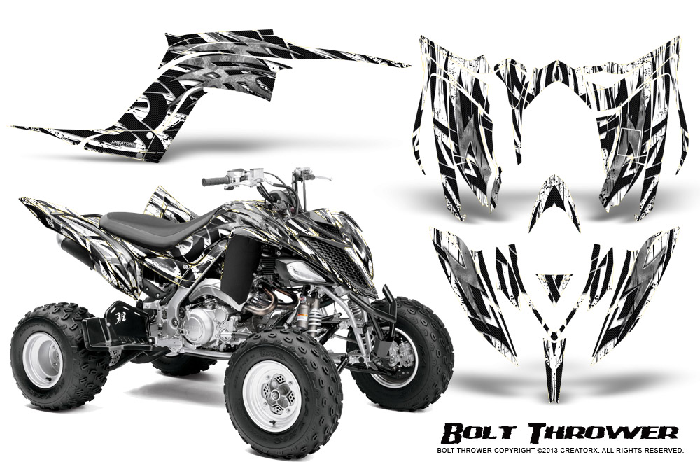 YAMAHA RAPTOR 700 2013-2018 GRAPHICS KIT CREATORX DECALS