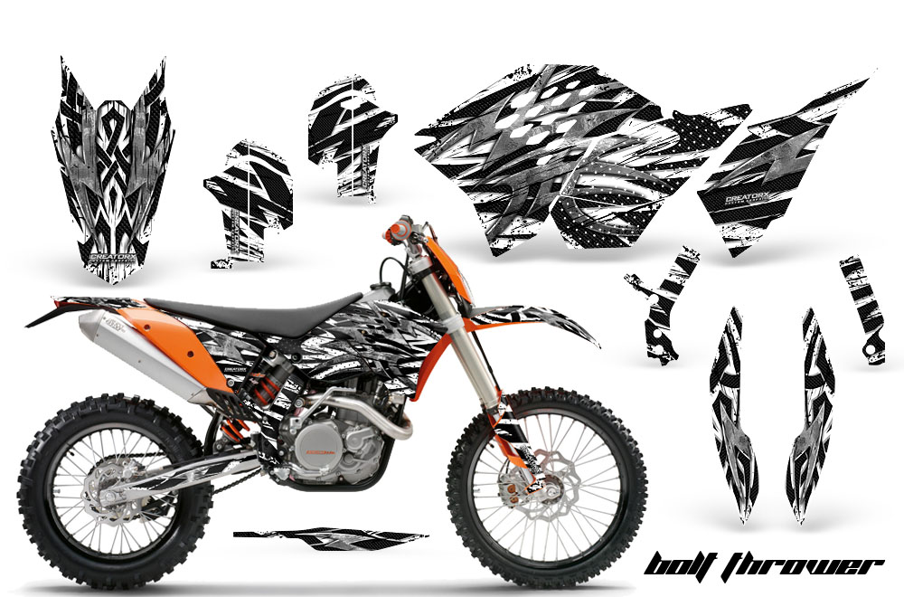 KTM GRAPHICS KIT SX SXF 07-10, EXC XCF 08-10-11, XCW 08-10