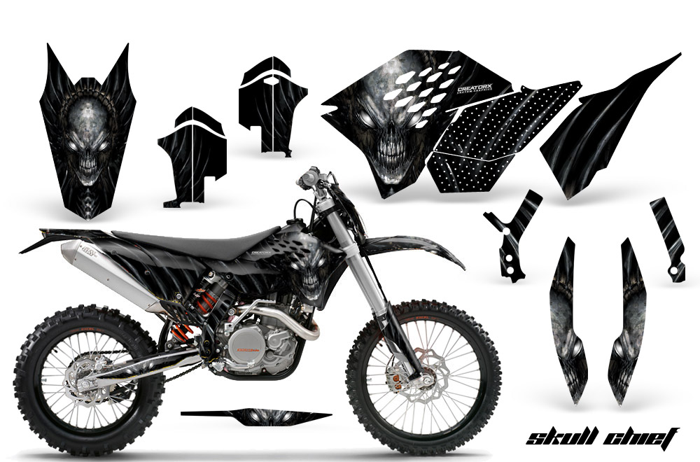 KTM Graphics Kit SX SXF 07 10 EXC XCF 08 10 11 XCW 08 10