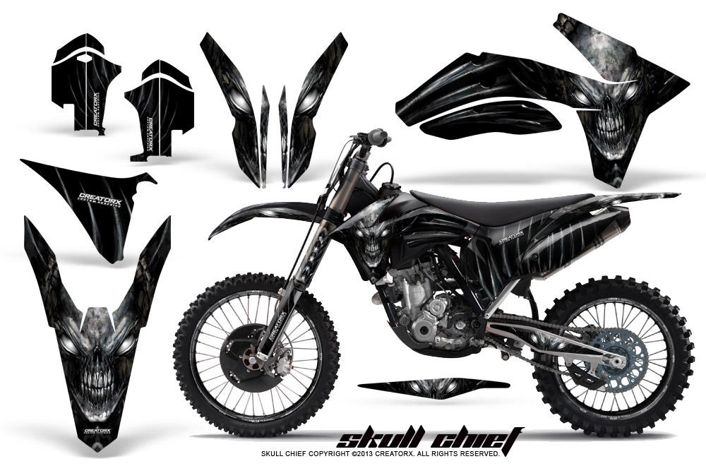 KTM 250SX 350SX 450SX 2011-2012 GRAPHICS KIT CREATORX
