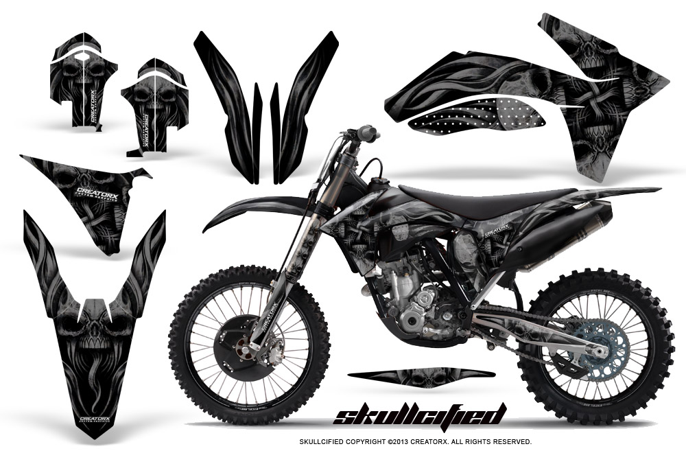 KTM 150XC 250XC 300XC 2011-2012 GRAPHICS KIT CREATORX
