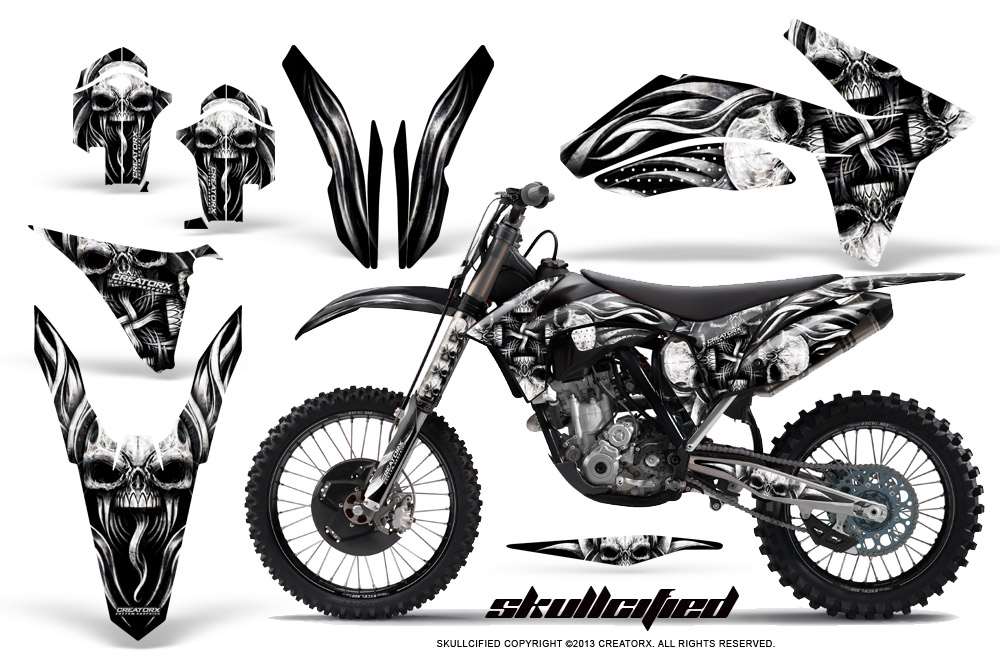 KTM 250SX 350SX 450SX 2011-2012 GRAPHICS KIT CREATORX