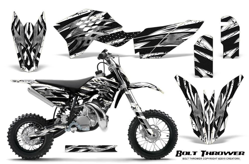 CREATORX GRAPHICS KIT FOR KTM SX50 2009-2015 BOLT THROWER